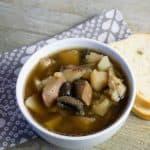 Instant Pot Steak and Mushroom Soup