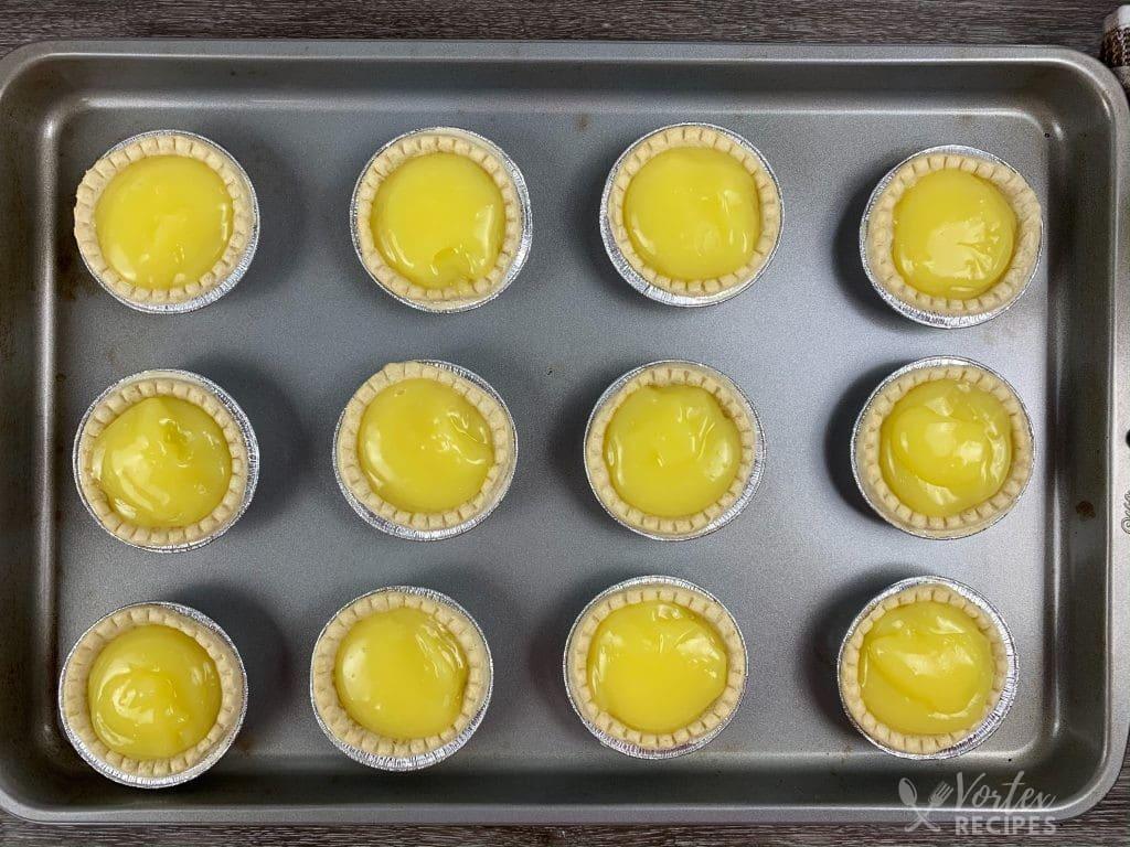Instant Vortex Air Fryer Mini Lemon Tartlets