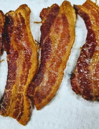 Perfect Bacon - Vortex Air Fryer