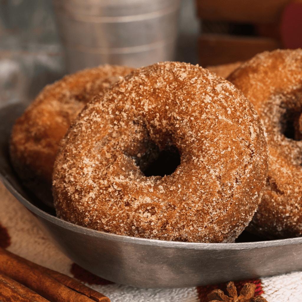 Easy Vortex Air Fryer Cinnamon Sugar Donuts