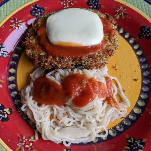 Vortex Air Fryer Eggplant Parmesan