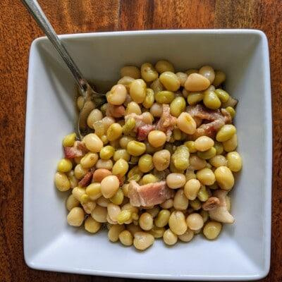 Southern Style White Acre Peas