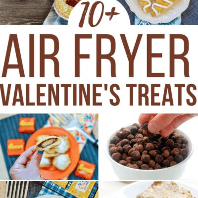 valentines day air fryer treats